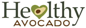 Healthy Avocado type logo