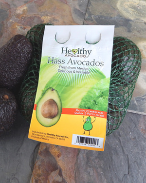 Healthy Avocados Mesh Bag