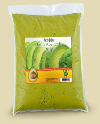 hass avocado pulp bag
